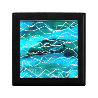Eye-catching Gift Box with Abstract 'Waves' Design