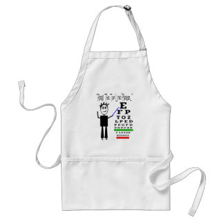Eye Chart Eye Doctor Design Gifts Standard Apron