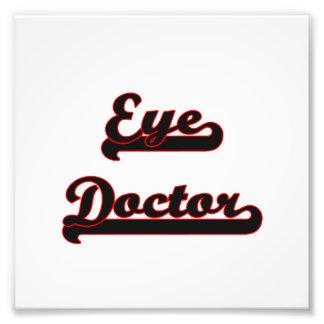 Eye Doctor Classic Job Design Photograph
