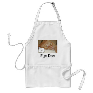 Eye Doctor Humor/It's all a Blur Apron