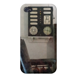 Eye Doctor's Office with Eye Chart iPhone 4/4S Covers