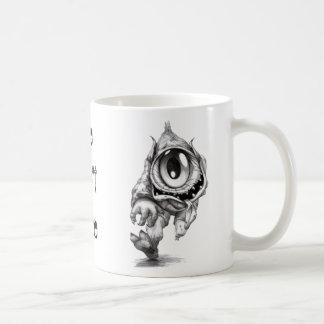 Eye Don't Care Basic White Mug