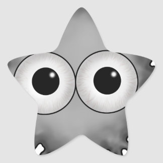 eye drop star sticker