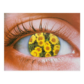 Eye-flowered Postcard