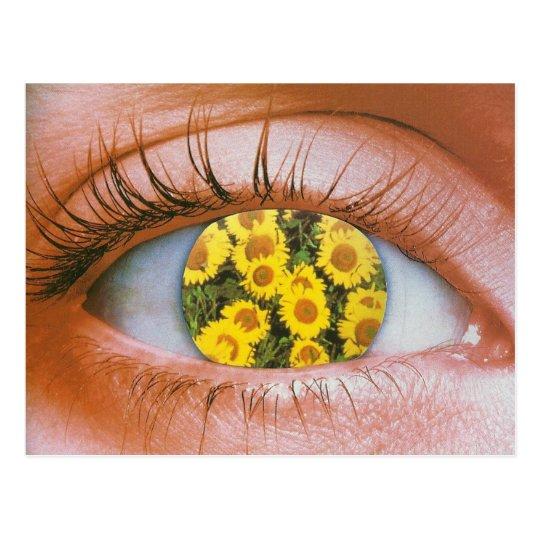 Eye-flowered Postcard