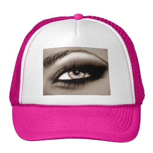 eye mesh hats