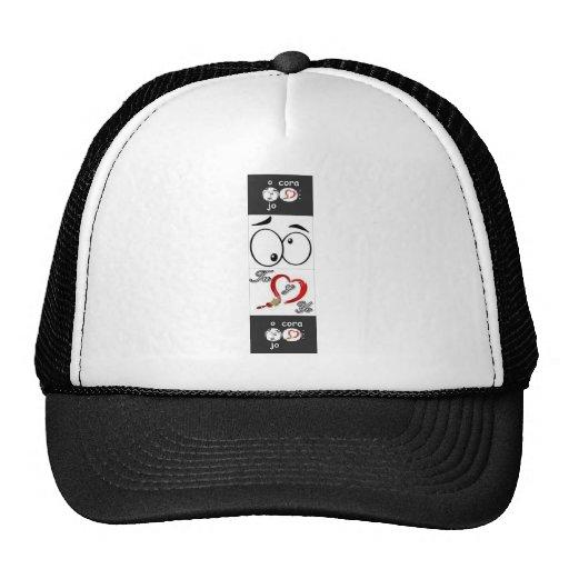 eye heart 2 trucker hat
