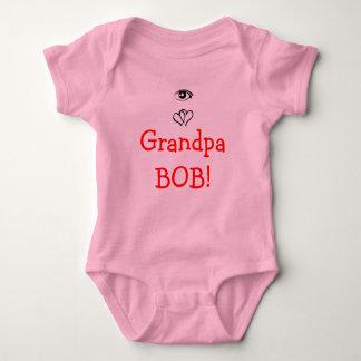 Eye Heart Grandpa Bob! Baby Bodysuit