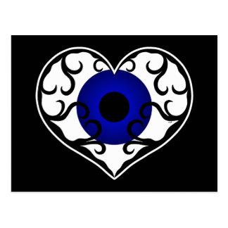 Eye heart postcards