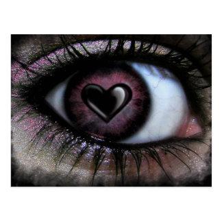 Eye Heart U Postcard