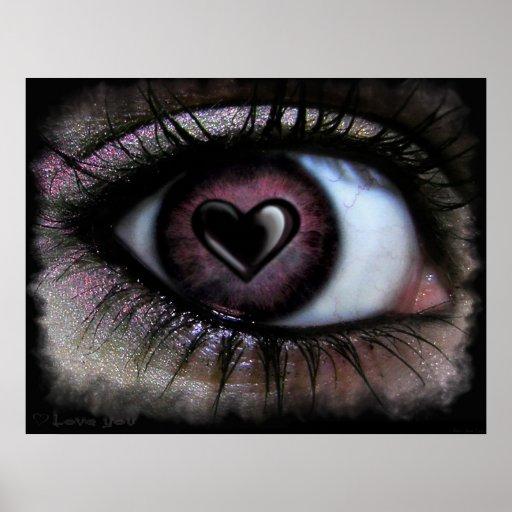 Eye Heart U Poster