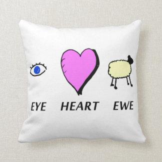 Eye Heart You Cushion