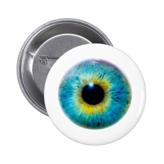 Eye I 6 Cm Round Badge