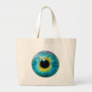 Eye I Large Tote Bag