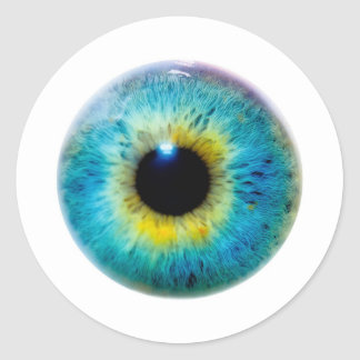 Eye I Round Sticker