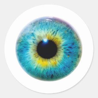 Eye I Round Sticker
