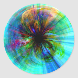 Eye in Orion Round Sticker