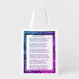 Eye Inside Our Soul Reusable Grocery Bag
