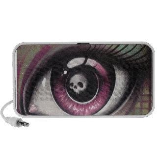 eye iPod speaker