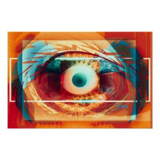 eye. keep a watch ful poster