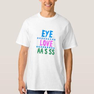 EYE LOVE ACE AA SS : FUNNY COMIC COMEDY WITTY TSHIRT
