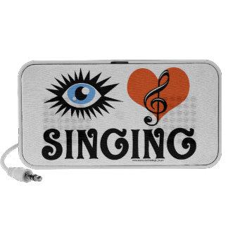 Eye Love Singing gifts Mini Speaker