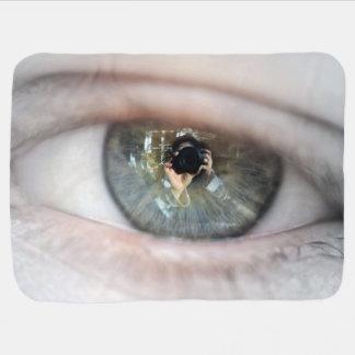 Eye-Macro by Shirley Taylor Baby Blanket