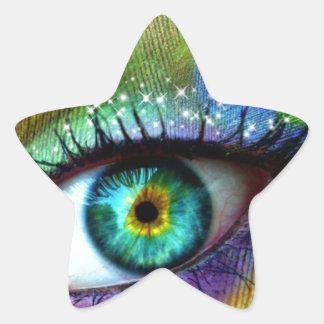 Eye Magic Star Sticker