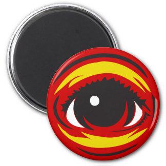 Eye magnet - Red