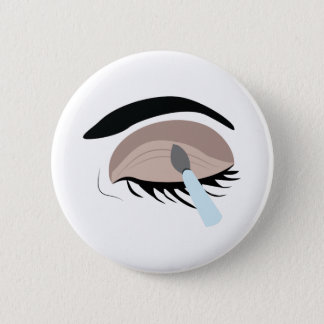 Eye Makeup 6 Cm Round Badge