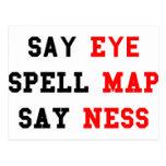Eye Map Ness