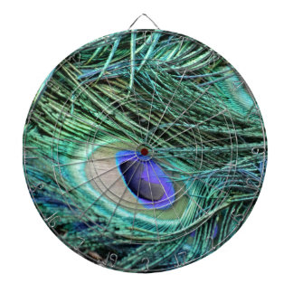Eye Of A Peacock Feather Dartboard