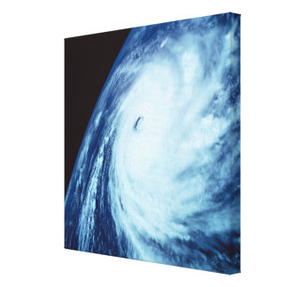 Eye of a Storm Stretched Canvas Print