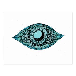 Eye of Fatima Postcard