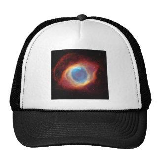Eye of God Helix Nebula Cosmic Clouds Star Photo Cap