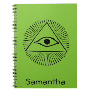 Eye Of God Notebooks