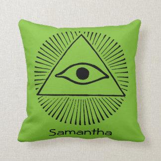 Eye Of God Throw Pillow