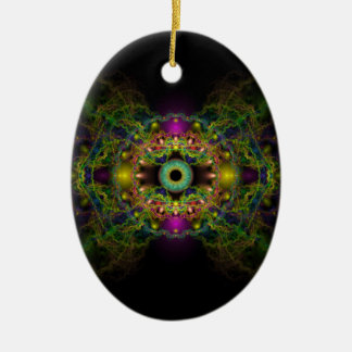 Eye of God - Vesica Piscis Christmas Ornament