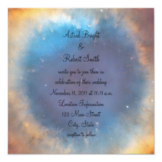 Eye of God Wedding 13 Cm X 13 Cm Square Invitation Card