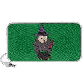 Eye of Hoot (Wizard Owl) Laptop Speaker