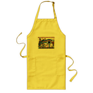 EYE OF HORUS Ancient Egypt Wadjet Art Long Apron