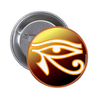 Eye of Horus Pinback Buttons