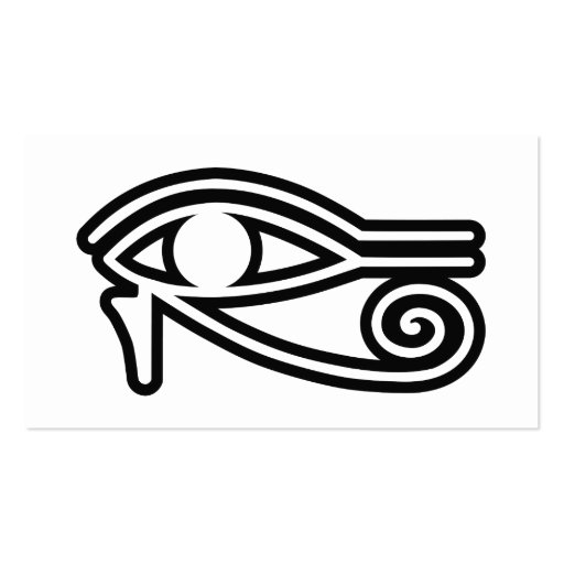 Eye_of_Horus Business Card Template
