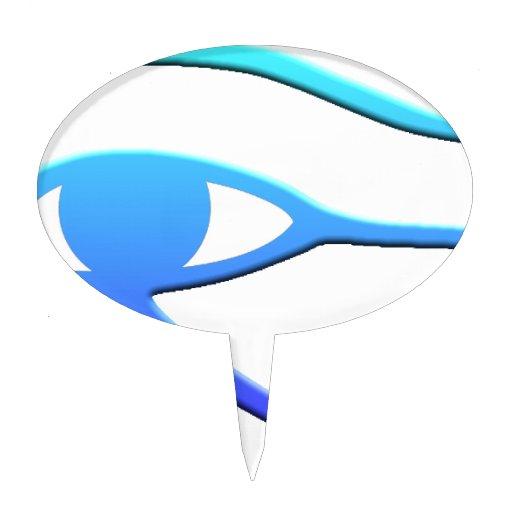 Eye of Horus Cake Pick