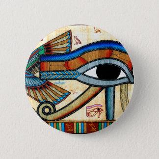 EYE OF HORUS Collection 6 Cm Round Badge