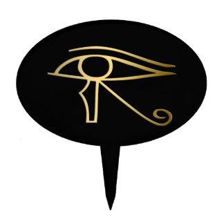Eye of Horus Egyptian symbol Cake Picks