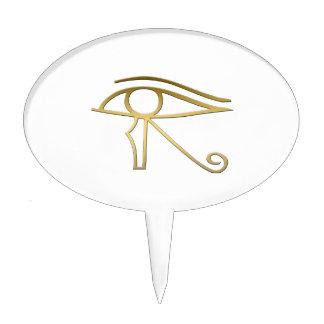 Eye of Horus Egyptian symbol Cake Topper