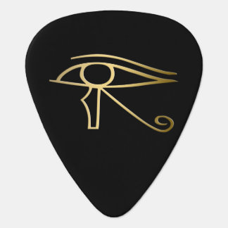 Eye of Horus Egyptian symbol Guitar Pick