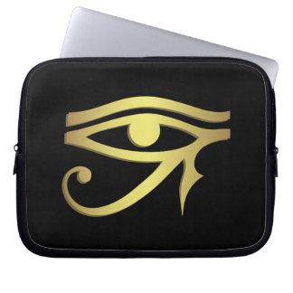 Eye of horus Egyptian symbol Laptop Sleeves