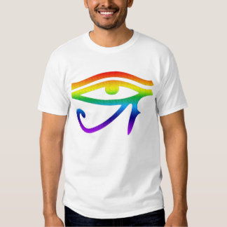 Eye of Horus Gay Pride Tshirts